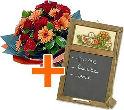 Thun articoli casa fiori a domicilio for Lavagna con orologio thun